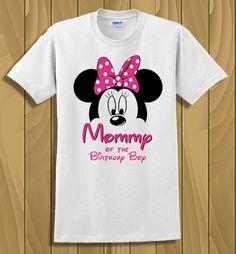 Camiseta Disney Minnie Mouse mamá de la por CleanlyWheatGraphics
