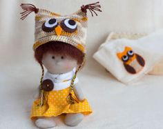 Doll PATTERN crochet and sewing cloth doll by MagicBabyDolls
