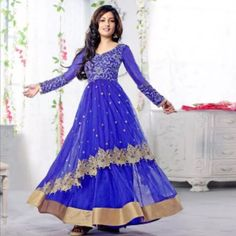 Indian salwar kameez anarkali pakistani Bengali Indian salwar kameez anarkali pakistani Bengali. Size 40 Dresses