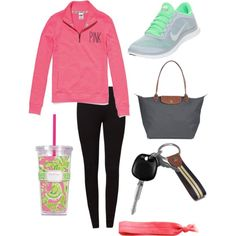 Running errands., created by abbiebogar on Polyvore
