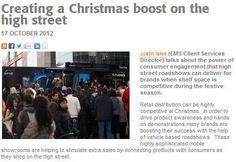 CREATING A CHRISTMAS BOOST ON THE HIGH STREET. Justin Isles (EMS Client Services Director) talks about the power of consumer engagement that high street roadshows can deliver for brands when shelf space is competitive during the festive season. Read full article.