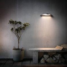 Philips moderne LED-Wandaussenleuchte Morningdew  silber