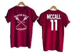 Teen Wolf shirt beacon hills tshirt MCCALL 11 Tshirt #tee #tshirt #cool #awsome
