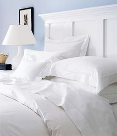Sereno By Sferra  A Luxury Percale Bed That Will Make You Feel Like You Have