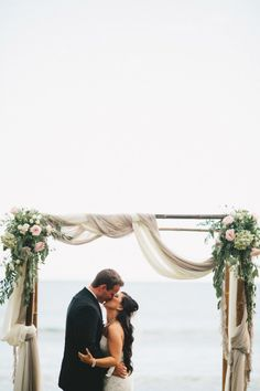 Romantic Outdoor Wedding On The Shores Of Maui