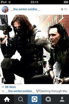 Bucky and Loki
