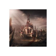The Castle Of The Red Queen, Alice In Wonderland iPad wallpaper iPad... ❤ liked on Polyvore featuring accessories