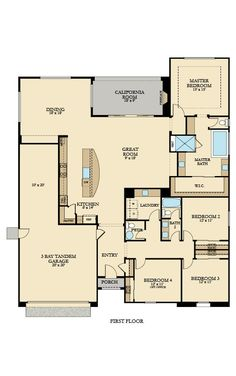 Residence 2442 New Home Plan in Summit View at Blackstone