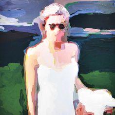 Woman In Sunglasses Lisa Golightly Figure Painting, Painting & Drawing, Painting Styles, Life Drawing, Figure Drawing Female, A Level Art, Hippie Art, Portrait Art, Contemporary Paintings