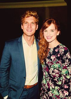 Scott Michael Foster and Elizabeth Lail at  the OUAT Season 4 Premiere After-Party