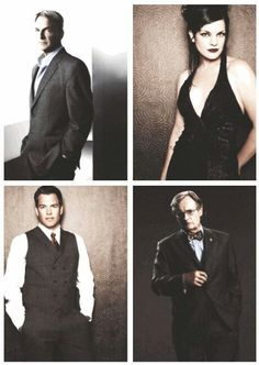the original 4.  Gibbs, Abby, Tony, and Ducky from NCIS ... if memory serves correctly - McGee didn't come in till end of season 2.