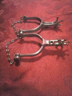 Antique Cowboy Spurs