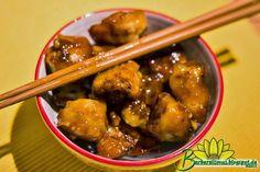 O molho que complementa esta deliciosa receita deliciosa receita é o melhor molho chinês que já experimentei, uma loucura de bom. Melhor ...