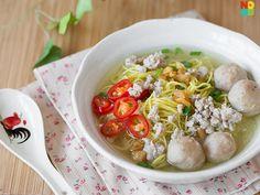 Bak Chor Mee Soup Recipe