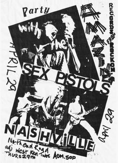 Sex Pistols at The Nashville Rooms in London April 29th 1976