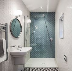 6 Qualified Hacks: Small Shower Remodeling Vanities corner shower remodel on a budget.Small Shower Remodel Space Saving bathroom shower remodeling before and after. Hexagon Tile Bathroom, Bathroom Flooring, Modern Bathroom, Bathroom Remodeling, Flooring Tiles, Narrow Bathroom, Neutral Bathroom, Boho Bathroom, Minimalist Bathroom