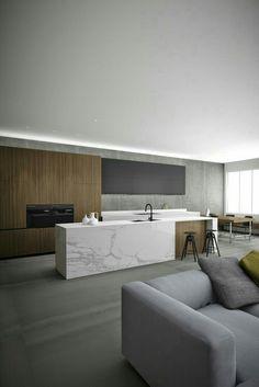 Contrast hout en wit 3