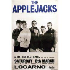 The Applejacks British Invasion, A Decade, Concert Posters, Pop Music, Pop Group, Rock N Roll, Singers, Musicians, Jazz