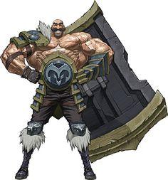 L'arte di League of Legends - Braum