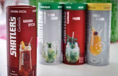 Shatler's Cocktails - Fertig-gemixter Cocktail, der aufgefüllt mit ca. 200g Crushed Ice für perfekten, mühelosen Cocktailgenuss auf höchstem Qualitätsniveau sorgt.
