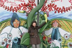 Me and The sky-high bean, My Giant Fairy Tale Book in Hungary, GYőr