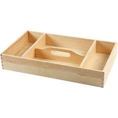 Shoe shine box, to decorate yourself - Make & Create, 109 SEK