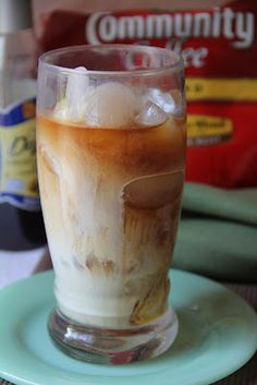 Deep South Dish: Overnight Cold Pressed Iced Coffee~ 1/2 gallon water, 1 cup coffee, refrigerate overnight, use a press or strain the next day, store in  refrigerater, mix a glass of cold coffee with your favorite sweetener, milk & or favorite flavoring. ENJOY!