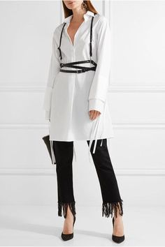 Zana Bayne - Leather Harness - Black - S