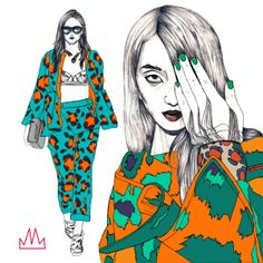 FASHION TRENDS by Mo Mularczyk, via Behance