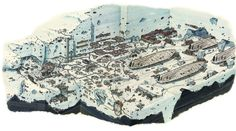 Gallery with illustrations from Dorking Kindersley's Inside the Worlds of Star Wars series.