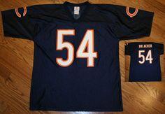 Brian Urlacher Chicago Bears Football Jersey Men's Large NFL Team Apparel/blue #NFLTEAMAPPAREL #ChicagoBears
