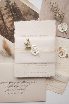 Wedding Invitation Card Design, Wedding Invitation Inspiration, Flower Invitation, Wedding Stationary, Whimsical Wedding Invitations, Rustic Invitations, Invitation Suite, Wedding Paper, Wedding Cards