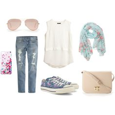 """Springtime Casual Sundays"" by fashion-district on Polyvore"