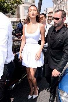 e467d32588d Bella Hadid wearing Alexander Wang Rina Slingback Pumps and 8 Other Reasons  Kim Chain Necklace