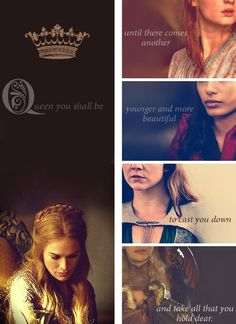 The Prophecy told to Queen Cersei Lannister. Right now the potentials are Sansa Stark, Arianne Martell, Margaery Tyrell, and Daenerys Targaryen.