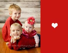 Love the posing for three little siblings!