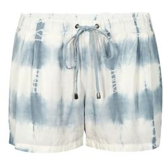 SPLENDID Tie Dye Shorts ($78) ❤ liked on Polyvore featuring shorts, grey, tye dye shorts, drawstring shorts, elastic waist shorts, tie die shorts and gray shorts
