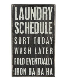 Need this for my laundry room - too cute!