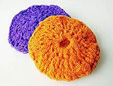 The best kitchen scrubby crocheted with net-tulle!  Instructions at bottom of the link