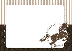 Convite 2 Cavalo