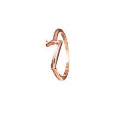 Code Number 14kt Rose Gold #7 Ring