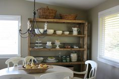 dining with storage rack