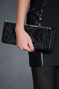 Let's Be Honest: It's All About the Bags: While the clothes walking down Fashion Week's runways will inspire us, we likely won't be tossing any of them in our online shopping carts anytime soon — ready-to-wear clothes can be pricey, and occasionally you'll fall in love with a style only to find out it was never actually produced for retail.