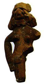 Mohenjo-Daro Mother goddess ~ Western India: Early Harappan 3500-2700 BC (Mohenjo-Daro, Mehrgarh, Jodhpura, Padri)