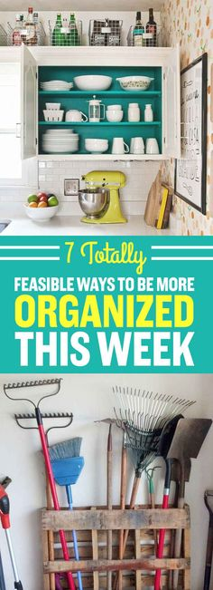 7 Totally Feasible Ways To Be More Organized This Week