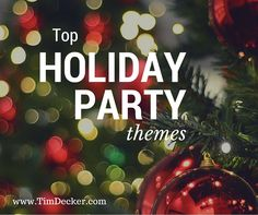top holiday party themes the company holiday party should be all about fun show