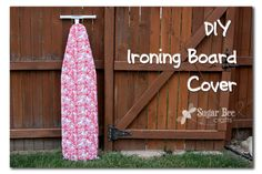 DIY Ironing Board Cover Tutorial