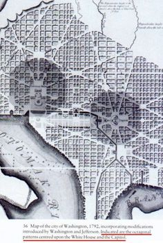 Masonic and Kabbalistic Symbols In the Washington DC Map for