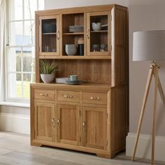 Contemporary, stylish and exceptionally well made Solid Oak Dresser. Our Bevel…