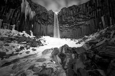 The Black Waterfall by TheFella, via Flickr #amazing #Iceland #icelandtravel